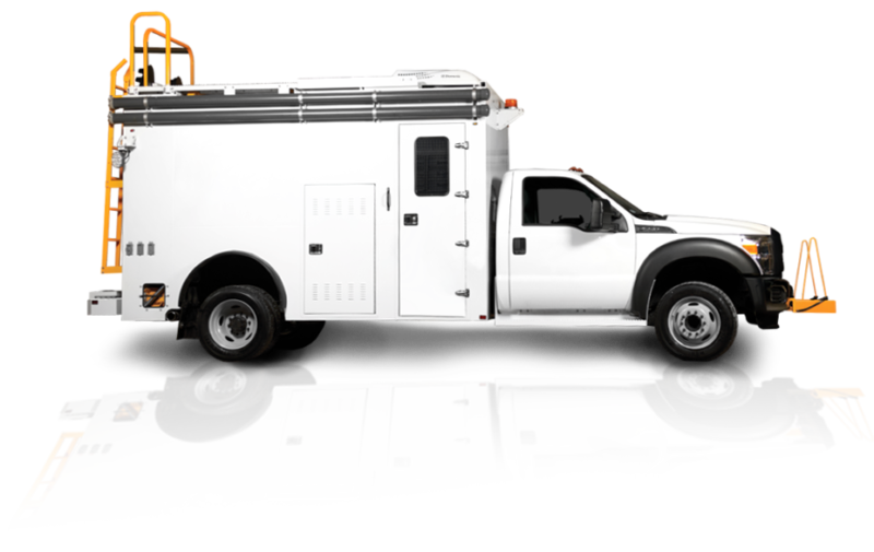 Boîtiers de camions utilitaires