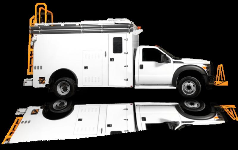 Utility truck bodies
